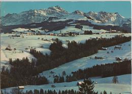 Kurort Hemberg Toggenburg - Blick Zum Säntis Im Winter En Hiver - Photo: Gross - SG St. Gall
