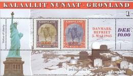 Denmark - Greenland Block6 Unmounted Mint / Never Hinged 1995 War - Blocks & Sheetlets