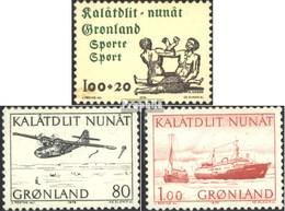 Dänemark - Grönland 97,98-99 (completa Edizione) MNH 1976 Sport Aid, Consegna Postale - Groenlandia