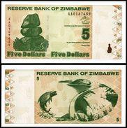 Zimbabwe 5 Dollars 2009 P 93 UNC ( Zimbabue  ) - Zimbabwe