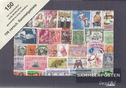 All World 150 Different Stamps  Out Different Collection Areas - Stamps