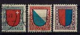 Schweiz 1920 // Michel 153/155 O (18.635) - Schweiz
