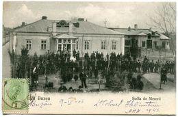 Roumanie BUZEU SCOLA DE MESERII 1906 - Romania