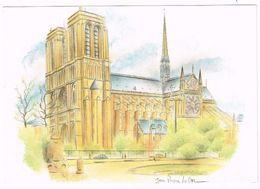 V2309 Paris - Notre Dame - Illustrazione Illustration / Non Viaggiata - Notre Dame De Paris