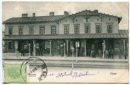 Roumanie BUZEU GARA 1906 - Romania
