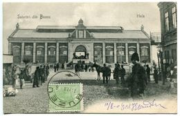 Roumanie SALUTARI DIN  BUZEU HALA 1906 - Romania