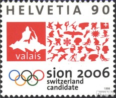 Suisse 1639 (complète.Edition.) Neuf Avec Gomme Originale 1998 Jeux Olympiques Jeux D'hiver - Ungebraucht
