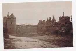 CP545 - Photographie - 56 - Sarzeau, Le Château Du XIII° Siècle En 1925 - Sarzeau