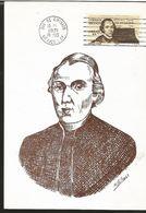 J) 1971 MEXICO, FRANCISCO JAVIER CLAVIJERO, 1731-1787, GUTEMBERG POSTCARD - Mexico