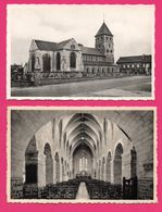4 Cp - Kortessem - Binnezicht Der Kerk - Kalvarie - Intérieur Et Tour De L'Eglise - NELS - VAN GUTSCHOVEN HUYGEN - Kortessem