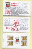 TIMBRES - STAMPS - (CARNET) - PORTUGAL - CHATEAUX ET ARMES DU PORTUGAL - PENEDONO - VISEU - Booklets