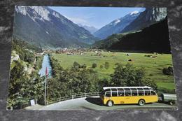 1403   Innertkirchen Postkurs Meiringen-Aereschlucht  Bus - Bus & Autocars