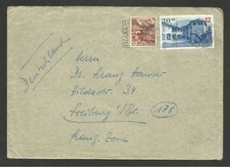 Lettre / BASEL 09.07.1948 >>> ALLEMAGNE - Schweiz