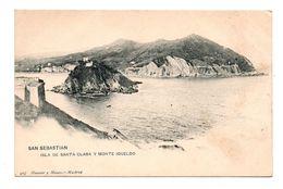 ESPAGNE . SAN SEBASTIAN . ISLA DE SANTA CLARA Y MONTE IGUELDO - Réf. N°7783 - - Guipúzcoa (San Sebastián)