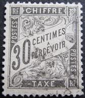 Lot FD/1032 - 1881 - T. TAXE TYPE DUVAL - N°18 - CàD - Portomarken