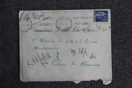 Lettre De NICE Vers MONACO  ( N°365 ) - France
