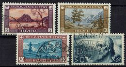 Schweiz 1929 // Mi. 235/238 O (018..653) - Schweiz