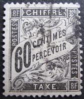 Lot FD/1035 - 1881 - T. TAXE TYPE DUVAL - N°21 - CàD - Cote : 65,00 € - 1859-1955 Oblitérés