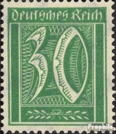 Allemand Empire 181, Rare Filigrane 2, Gaufres Neuf Avec Gomme Originale 1921 Numéros - Deutschland