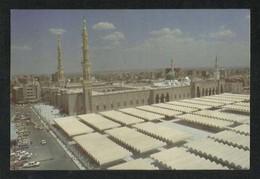 Saudi Arabia Picture Postcard General View Holy Mosque Madina View Card - Arabie Saoudite