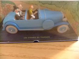 TINTIN En VOITURE - BIJ KUIFJE IN DE AUTO - LES CIGARES DU PHARAON - Tintin