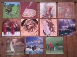 Lot De 11 Cartes Postales Illustrations International Graphics & Autres - Illustrators & Photographers