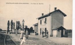 H72 - 01 - CHATILLON-SUR-CHALARONNE - Ain - La Gare Du Sud-Est - Châtillon-sur-Chalaronne