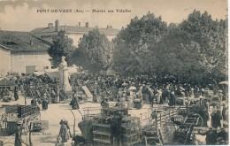 H72 - 01 - PONT-DE-VAUX - Ain - Marché Aux Volailles - Otros Municipios