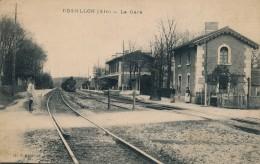 H72 - 01 - ROSSILLON - Ain - La Gare - Francia