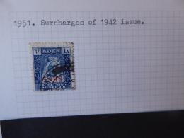 ADEN KATHIRI STATE OF SEIYUN SG 020 USED - Aden (1854-1963)