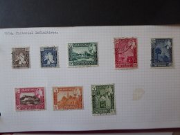 ADEN KATHIRI STATE OF SEIYUN SG 029/36 USED - Aden (1854-1963)