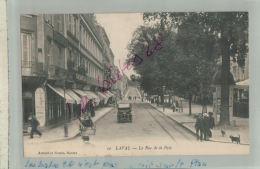 CPA 84   LAVAL   La Rue De La Paix   Automobile     M 2018 241 - Laval