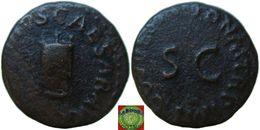 Roman Empire - AE Quadranas Of Claudius (41-54 AD), PON M TR P IMP COS DES IT - 1. Les Julio-Claudiens (-27 à 69)