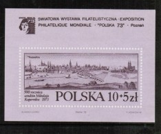 POLAND  Scott # B 128a** VF MINT NH Souvenir Sheet SS-98 - Blocks & Sheetlets & Panes