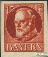 Bavière 115B Neuf Avec Gomme Originale 1916 King Ludwig III - Bavière