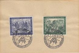 Leipziger Messe / Ersttagsstempel  7.3.1948 - Zone Soviétique