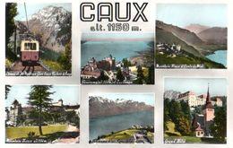 Caux Multi Vues CPSM Petit Format - Francia