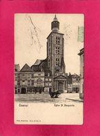 Belgique, Hainaut, Tournai, Eglise Ste-Marguerite, Animée, 1906, (Nels) - Tournai