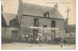 COURTILS. Un Coin Du Bourg. Café Cordonnier POISNEL. - Frankreich