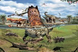 T18-104 ]     Prehistorics Animal Dinosaurs  , China Pre-paid Card, Postal Statioery - Prehistóricos