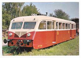 68 Ligne Cernay Sentheim Autorail De Dion Bouton De 3ème Classe Train De La Vallée De La Doller VOIR DOS - Cernay