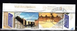 Nederland 2012 Nr 2910+2911 Mi Nr 2956 + 2957  Amsterdam Herengracht + Magere Brug  Europa Zegel, Gestempeld - Period 1980-... (Beatrix)