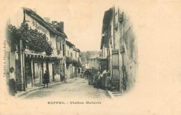 RUFFEC VIEILLES MAISONS - Ruffec