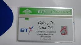 United Kingdom-(btc061)welsh Eisteddfod-(20units)-(227a)-price Cataloge6.00£-card+1card Prepiad Free - United Kingdom