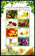 FRUITS OF BHUTAN-MS-BHUTAN-MNH-ABHTMS-1 - Bhutan