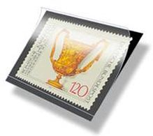 Lindner HA1055 Hawid Strips 210 X 55 Mm, Black - Pack Of 25 - Stamps