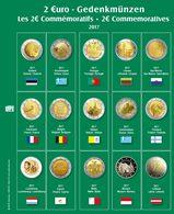 SAFE 7341-19 Münzblatt Mit Vordruck Für 2 EURO 2017 - Supplies And Equipment