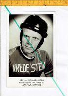Wr 471 - ARIE VAN HOUWELINGEN  Wereldkampioen 1959 - 1960 Der Amateurstayers - Cyclisme