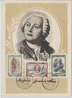 URSS Carte Maximum 1961 Lomonov - 1923-1991 URSS
