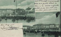 PALMANOVA PIAZZA VITTORIO EMANUELE RIVISTA MILITARE 1909 - Autres Villes